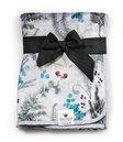 Pearl Velvet Blanket - Forest Flora